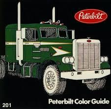 41 best peterbilt color guide images on pinterest semi trucks