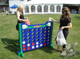 giant connect 4 game rental lets party