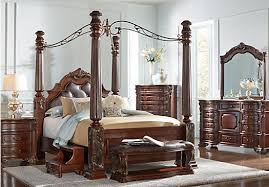 Bedroom Amazing Cortona Canopy Bed Dresser Set Pottery Barn Inside - California king size canopy bedroom sets
