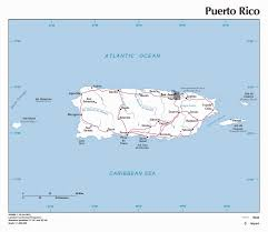 Maps Of Puerto Rico by Maps Of Puerto Rico Map Library Maps Of The World