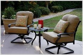 Bar Height Patio Chairs by Bar Height Patio Furniture With Swivel Chairs Chair Home