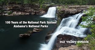 Alabama national parks images Years of the national park system alabama 39 s national parks png