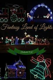 drive by christmas lights bartlesville s fantasy land of lights is a great drive through