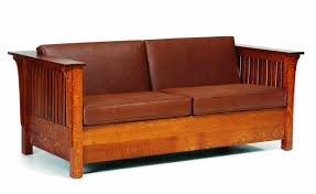 mission style leather sofa mission style furniture sofa