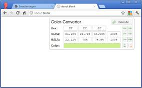 color converter chrome web store
