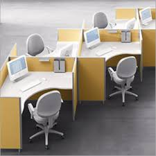 U Shaped Home Office Desk by Laminate Office Furniture Pod With U Shaped Desk And Glass Cabinet