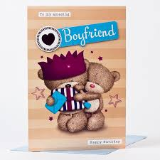 hugs birthday card amazing boyfriend only 99p