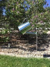 Watering Can Yard Decor