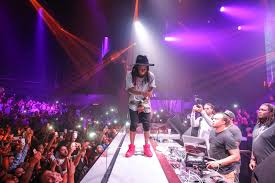 sighting lil wayne celebrates fourth of july at sls las vegas