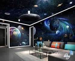wallpaper for entire wall 3d galaxy solar system entire room wallpaper wall murals art prints