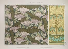 Papier Peint Art Nouveau Revues Et Albums Décoratifs Pour Les Arts Industriels La