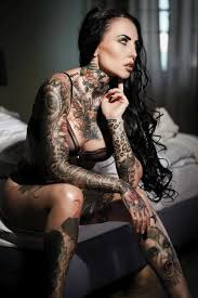 tattoomodels makani terror alternative model from germany