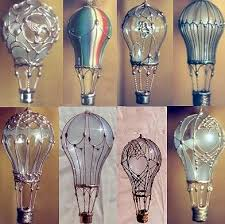 balloons shaped like light bulbs air balloons made from light bulbs diy pinterest air