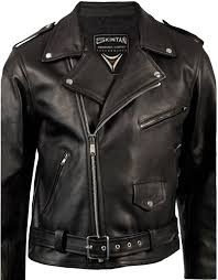 bike jacket price mens black leather brando motorcycle biker jacket by skintan