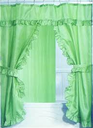 Fabric Shower Curtains With Matching Window Curtains Double Swag Shower Curtains Shower Curtains Outlet