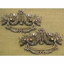 where to buy antique cabinet pulls h12053 pair of antique drawer pulls