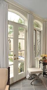 window treatments for french doors home design and decor
