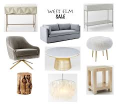 West Elm Console Table by West Elm Sale Kathleen Fraser Design