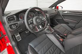 volkswagen gti interior 2015 volkswagen golf gti review long term verdict motor trend