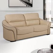 Stylish Leather Sofas Leather Sofas With Style - Cream leather sofas