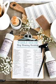 how to spring clean your house in a day how to enjoy deep cleaning your house free checklist cleaning kit