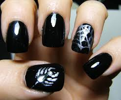deez nailz halloween spider or scorpion