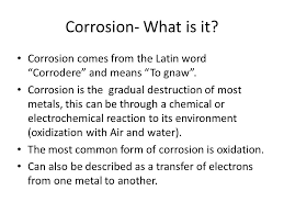 corrosion by ross james and alex ppt video online download