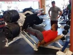 Olympic Record Bench Press Most 2465 Pound Leg Press Repetitions World Record Joseph Holt