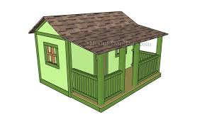 playhouse floor plans myoutdoorplans free woodworking plans