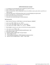 audi q5 2010 8r 1 g navigation system instalation manual