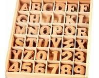 plastic letter stencils mini block