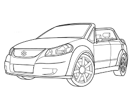 suzuki makai cars coloring pages printable coloring page kids