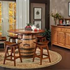 Barrel Kitchen Table Home Interior Inspiration - Barrel kitchen table