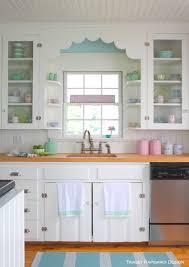 Coastal Cottage Kitchen - coastal colors tracey rapisardi style