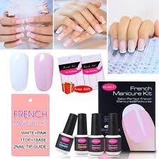 cnd shellac french manicure kit coat color nail polish gel white