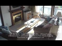 ocean city nj beach house rental ocbythebeach com youtube