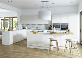 white gloss kitchen doors integrated handle handleless kitchens any colour irresistible prices