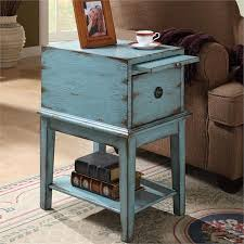 Blue Accent Table Reconciliasian