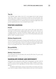 protein and amino acids dietary reference intakes the essential