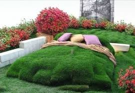 garden creative ideas grass bed creative ads and more u2026