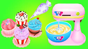fun baby cooking kids games play and learn making real cake