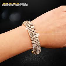 bracelet hand images Ireacess new luxury hand chain wedding bracelet full crystal charm jpg