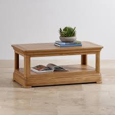 Natural Solid Wood Furniture Solid Oak Coffee Table Coffee Tables Decoration