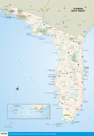 A Map Of Florida Map Of Florida Cities On Gulf Coast World Maps