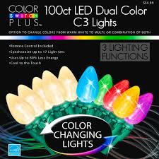 color switch plus dual color changing led c3 lights with