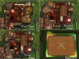Sims 3 Mansion Floor Plans Carson Mansion Inside Windows Google Search Little Good Witch