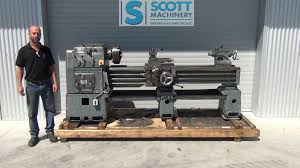 meuser type l used lathe youtube