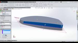 how to create parting line draft in solidworks youtube
