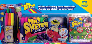 mr sketch holiday kit with neon markers walmart canada