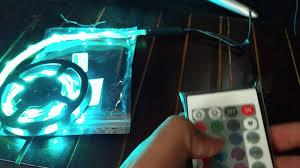led strip lights for tv etoptrade tv backlight kit rgb usb led strip light youtube